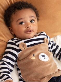 Completo pigiama maniche lunghe con motivi orsetto neonato BEAUGUST / 21H5BG61PYJ715