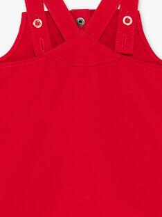 Abito scamiciato rosso ricamato ZAASTRID / 21E1BFJ1CHSF505