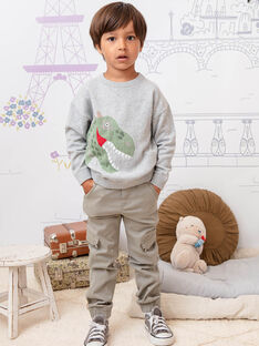 Pantaloni taupe bambino BANAGE / 21H3PG22PAN631