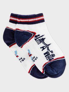 Off white Low socks RYSOCAGE / 19E4PGT1SOB001