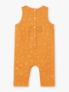 Tuta cammello con stampa fantasia neonata BAINOU / 21H1BFJ1SAL804