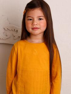T-shirt a maniche lunghe bambina ZETETTE 1 / 21E2PF92TMLB114