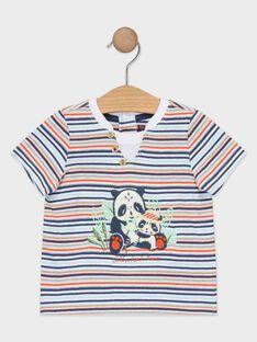 T-shirt neonato a righe TAPABLITO / 20E1BGP1TMC001