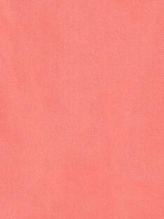 Gonna a trapezio rosa in twill di cotone ZETOMETTE / 21E2PFI1JUP404
