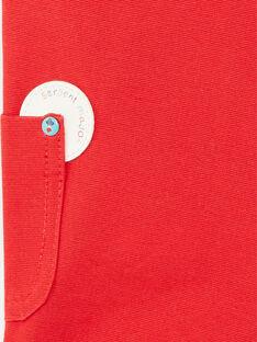 Salopette corta rossa ZAKENZO / 21E1BGJ2SAC050