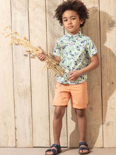 Bermuda arancione bambino TUVOAGE / 20E3PGX1BER406