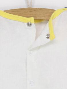 T-shirt maniche corte ecrù RAEDEN / 19E1BGC1TMC001