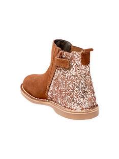 Light brown BOOTS BECHELETTE / 21F10PF43D0D804
