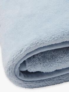 Copertina blu e bianca nascita bambino BONNO / 21H0AG41D4P219