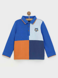 Polo blu RABIAGE / 19E3PG41POL217