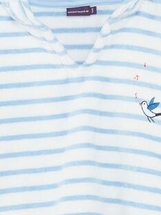 Mantella da bagno celeste neonato ZIRICHAR / 21E4BGR1CDB213