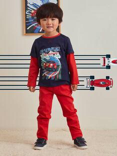 Pantaloni a tinta unita bambino BOGITAGE / 21H3PGM3PANF528