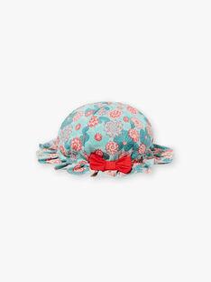 Cappello con stampa fiori di loto ZACHOU / 21E4BFI1CHA629