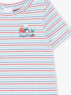 Body t-shirt maniche corte a righe ZAKAMARO / 21E1BGJ2BOD000