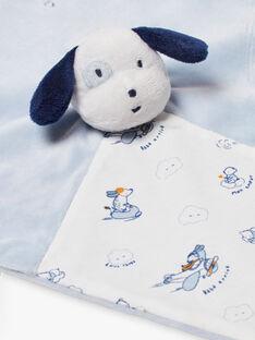 Peluche cane celeste e bianco nascita bambino BOYAN / 21H0AG41JOU219