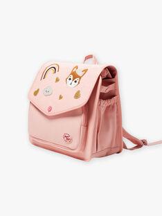 Cartella rosa con motivi fantasia bambina BAZINETTE / 21H4PF53BES310