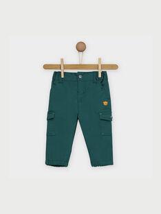 Pantaloni verdi RACLYDE / 19E1BG61PANG611
