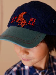 Cappellino a contrasto blu tigre ZACAPAGE / 21E4PGI1CHA705