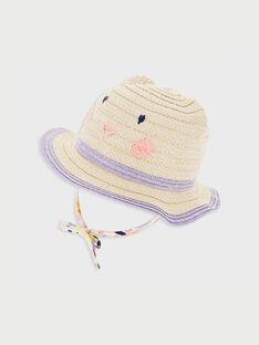 Cappello ecrù RAIZISE / 19E4BFD1CHA009