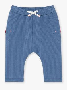 Pantaloni blu genziana neonato ZAEDDY / 21E1BGB1PANC230