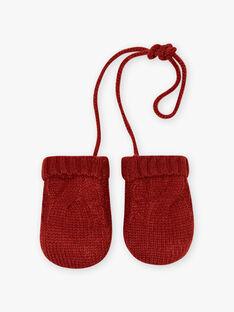 Muffole in maglia intrecciata neonato BIOMAR / 21H4BGD1GANI801