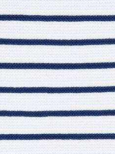 Maglia bianca e blu a righe ZAIYN / 21E1BGI1PUL001