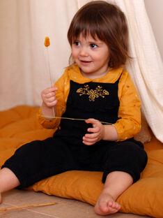 Salopette nera neonata ZADOLLY / 21E1BF91SAL090