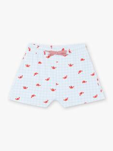 Shorts mare bianchi neonato ZIRAOUL / 21E4BGR2MAI213