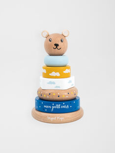 Multicolor STACKING AND SORTING BEAR PYRAMID / 20J78251EPE099