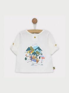 T-shirt ecrù RACHARLY / 19E1BG61TML001