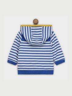 Giacca sportiva blu e bianca RACHOUPY / 19E1BG61JGH707