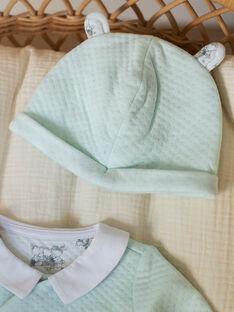 Tutina turchese neonato ZOPAUL B / 21E0NGY1GRE203