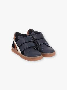 Sneakers navy con dettagli a contrasto bambino BASKAGE / 21F10PG42D0D070
