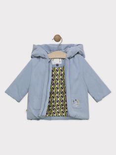 Parka neonato blu-grigio SIPAULIN / 19H1BGF1PAR205