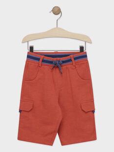 Bermuda arancione bambino TYTOPAGE 2 / 20E3PGM4BERF525