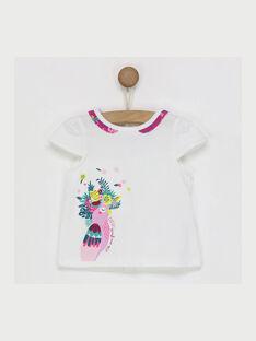 T-shirt maniche corte bianca RAVALATINE / 19E1BFQ1TMC001