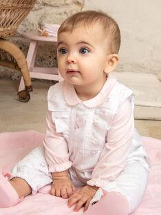 Completo body, salopette e calze neonata ZOURA / 21E0CFG3ENS000