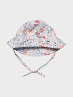 Cappello bianco con motivi RAKANOEUD / 19E4BFF1CHA001