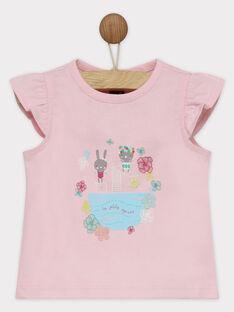 T-shirt maniche corte rosa RATALIA / 19E1BFP1TMC321