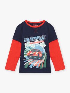 T-shirt effetto 2 in 1 con motivo automobile bambino BOCIAGE / 21H3PGM1TMLC228