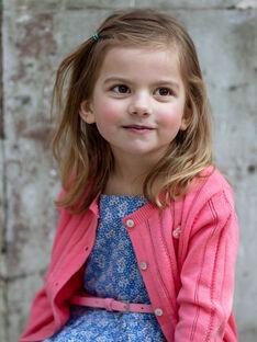 Cardigan rosa bambina ZUCAYETTE / 21E2PFT1CARD313