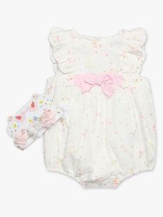 Pagliaccetto a fiori neonata TALILY / 20E1BFJ1BAR000