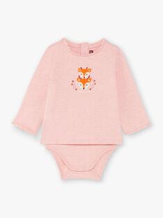 Body rosa neonata BAISIS / 21H1BFJ2BODD314