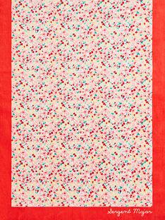 Telo mare con stampa a fiori bambina TIKOETTE / 20E4PFI2SRV001