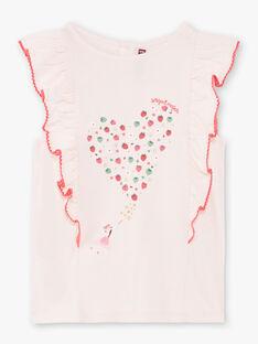 T-shirt rosa motivo fragola ZOMIRETTE / 21E2PFJ1TMC301