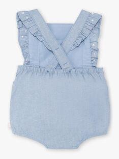 Pagliaccetto in jeans ricamato neonata ZAPRISKA / 21E1BFT1BAR721