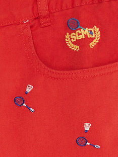Red Bermuda TEWOLAGEM / 20E3GHN1BERF508