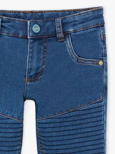 Jeans in maglia effetto jeans bambino ZAMLAGE / 21E3PG91JEAP269