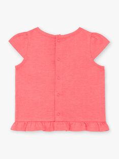 T-shirt rosa neonata ZASTACY / 21E1BFU1TMCD311