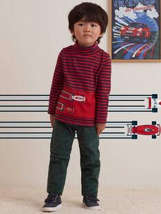 Pantaloni verde con tasche bambino BOATAGE / 21H3PGM1PAN060